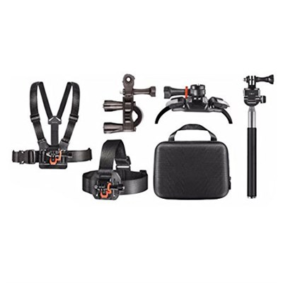 Outdoor Action Kit with BLTCHM1 Clip Head Mount for Action Camera (AMP-8600)