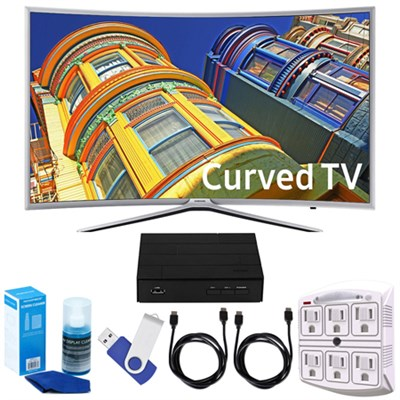 49` Curved 1080p Full HD Smart LED TV + Terk HD TV Tuner Bundle