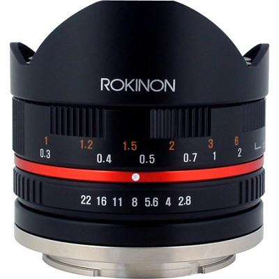 Series II 8mm F2.8 Fisheye Lens for Samsung NX Mount