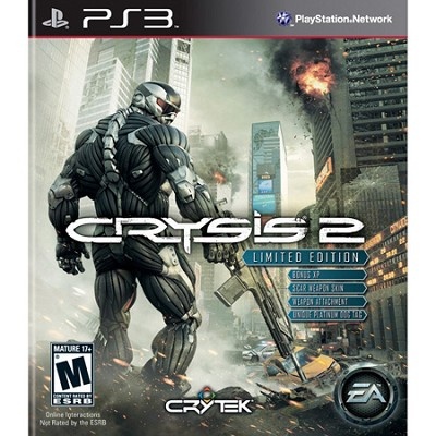 Crysis 2 Limited Edition for Playstation 3
