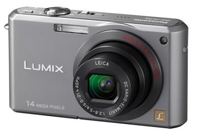 DMC-FX150S - Premium Compact 14.7 Megapixel Digital Camera (Silver) - OPEN BOX