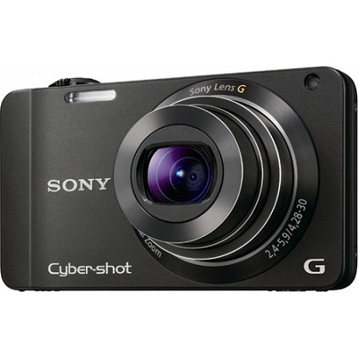 Cyber-shot DSC-WX10 Black Digital Camera - OPEN BOX