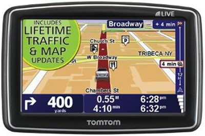 340TM LIVE 4.3` GPS with Lifetime Traffic & Map Updates - OPEN BOX