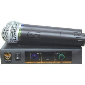 DKW Duo VHF Handheld Wireless Microphone System (Channel P and R)