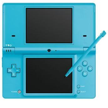 DSi Portable Gaming Console - Matte Blue
