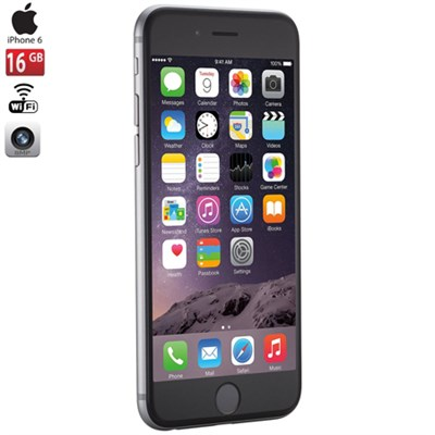 iPhone 6, Gray, 16GB, Verizon 1-Year Warranty - MG5W2LL/A- Certified Refurbished