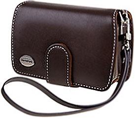 Premium Slim Leather Case (Dark Brown)
