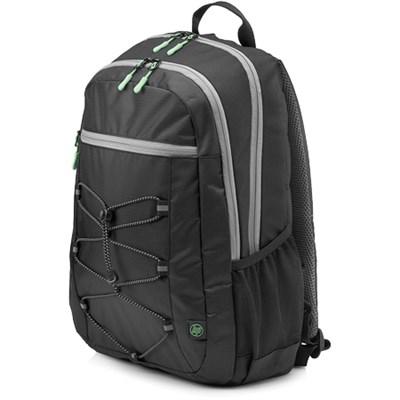 15-inch Lightweight Laptop Sport Backpack (Black/Green)