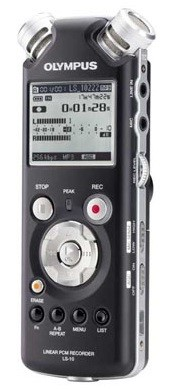 LS-10 PCM Audio Recorder (Olympus Factory Refurbished)