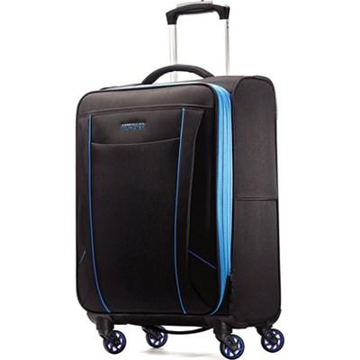 Skylite 20` Black / Blue Spinner Luggage