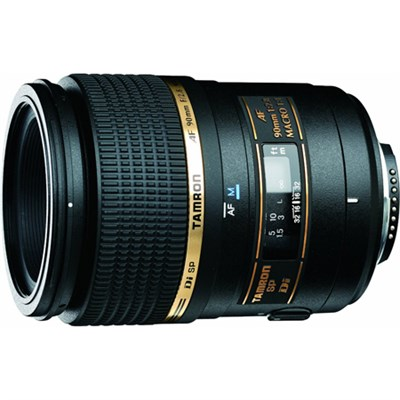 90mm F/2.8 DI SP AF Macro 1:1 Lens For Canon EOS With 6-Year USA Warranty