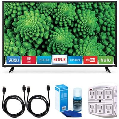 D48f-E0 D-Series 48` Full Array LED Smart TV Accessory Bundle
