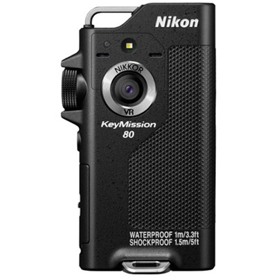 KeyMission 80 12.3MP Full HD Action Camera with Built-In Wi-Fi Kit 3