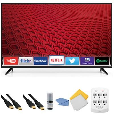 E50-C1 - 50-Inch 1080p 120Hz Smart LED HDTV + Hookup Kit