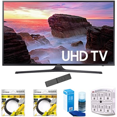 74.5-Inch 4K Ultra HD Smart LED TV 2017 Model with Cleaning Bundle