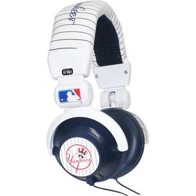 Major League Baseball Team Logo DJ Style Headphones - New York Yankees