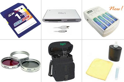 Platinum Accessory Kit for Minolta Dimage Z10