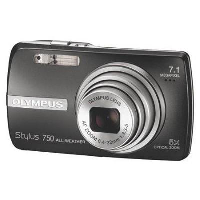 Stylus 750 Digital Camera (Black) Fall Mega-savings bundle