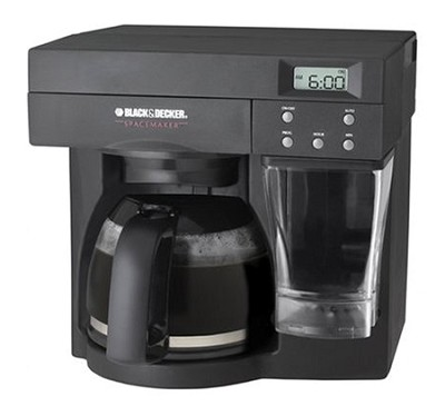 ODC440B SpaceMaker Under The Counter 12-Cup Coffee Maker [black]