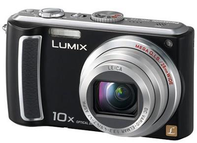DMC-TZ5K - 9 Megapixel Digital Camera (Black) w/ 3- inch LCD- REFURBISHED