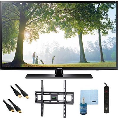 UN60H6203 - 60-Inch 120hz Full HD 1080p Smart TV Plus Mount & Hook-Up Bundle