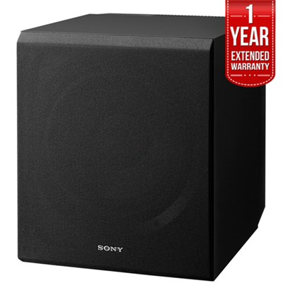 115 W 10` Home Theater Active Subwoofer + 1 Year Extended Warranty
