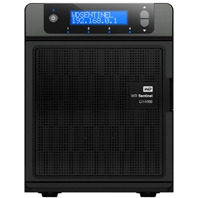 WD Sentinel 4TB Small Office Storage Server DX4000
