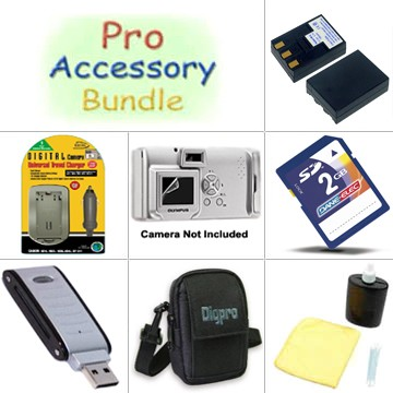 Platinum Accessory Kit for PowerShot SD500 / SD550