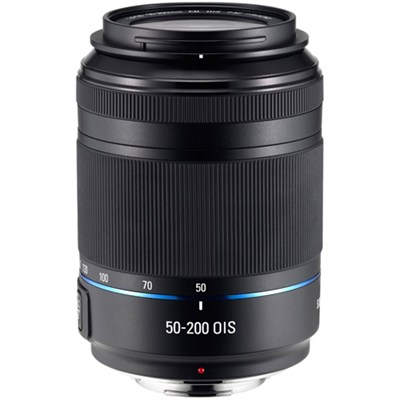 NX 50-200mm f/4.0-5.6 ED OIS II Zoom Camera Lens - Black - OPEN BOX