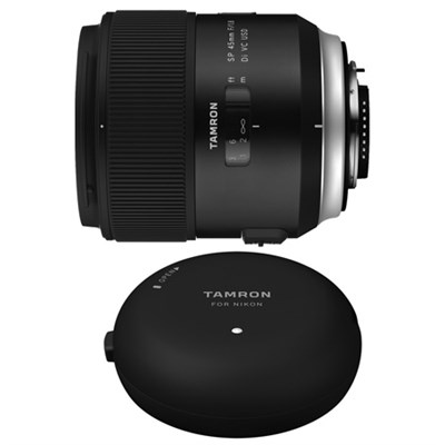 SP 45mm f/1.8 Di VC USD Lens and TAP-In-Console for Nikon Mount Cameras