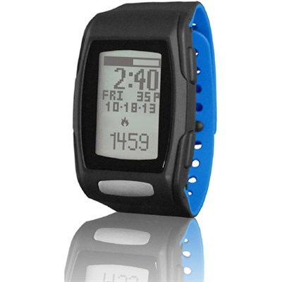 Zone C410 Heart Rate Monitor - Black/Blizzard Blue (LTK7C4102) - OPEN BOX