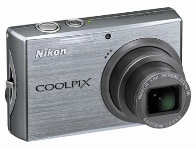 Coolpix S710 Digital Camera (Brilliant Silver)