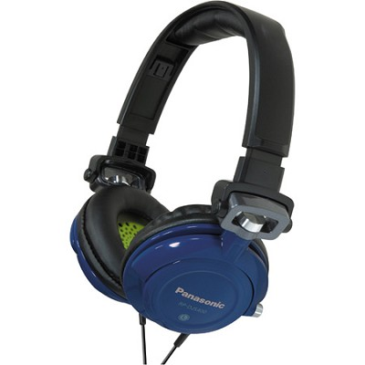 RP-DJS400-A DJ Street Model Headphones (Blue)