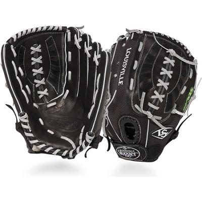 13-Inch FG Zephyr Softball Outfielders Glove Right Hand Throw - Black