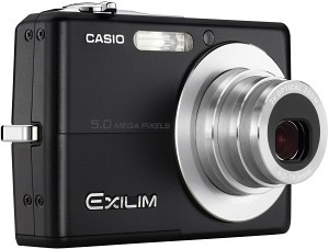 Exilim EX-Z500 Black 5MP Digital Camera
