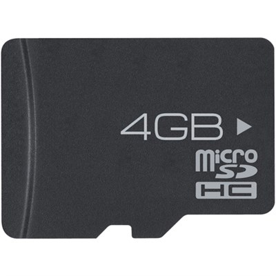 4GB High-Speed MicroSD Memory Card