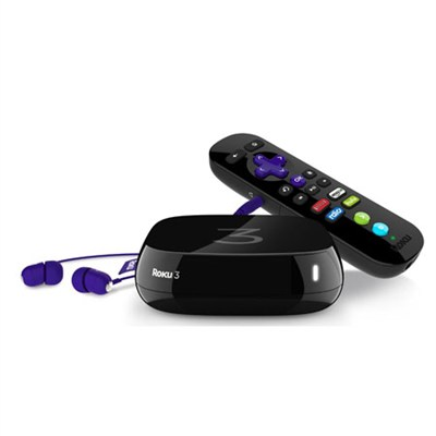 3 Streaming Media Player, Black - OPEN BOX