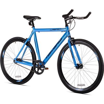 Blue Renzo 22.5`/56cm 700c Fixie Road Bike (32722)