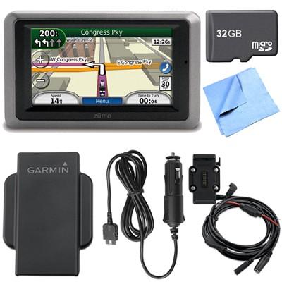 zumo 660 Motorcycle GPS With Lifetime Map Updates Deluxe Bundle