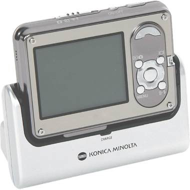 Dimage X1 Digital Camera {Silver} With Cradle
