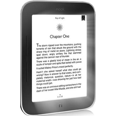 NOOK Simple Touch with GlowLight E-Ink Reader w/ 2GB Memory