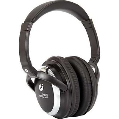 Sound Clarity Active Noise Canceling Headphones w/ Microphone - Black