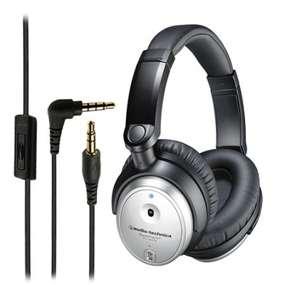 ATH-ANC7b-SViS QuietPoint Active Noise-Cancelling Headphones