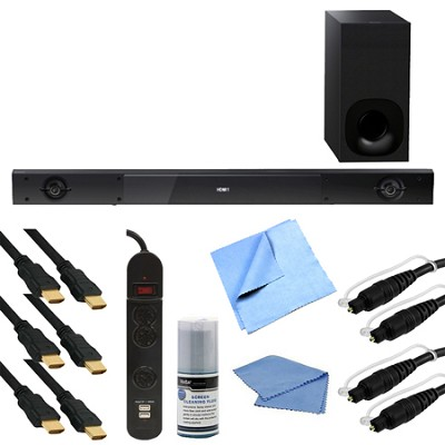 HT-NT3 Hi-Res 2.1 Channel Sound Bar with Wireless Subwoofer Bundle