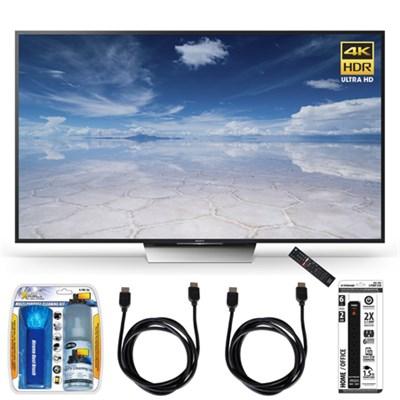 XBR-75X850D 75-Inch Class 4K HDR Ultra HD TV Accessory Bundle