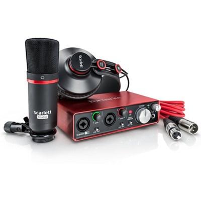 Scarlett 2i2 Studio USB Audio Interface & Recording Bundle (2nd Generation)