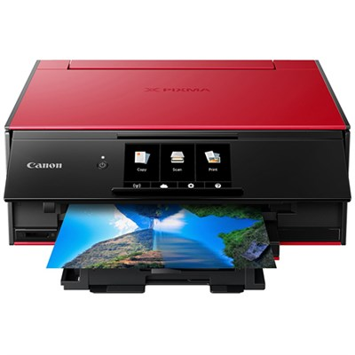 PIXMA 9120 Wireless All-In-One Printer, Red