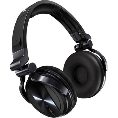 Professional DJ Headphones - Black Chrome - HDJ-1500-K - OPEN BOX