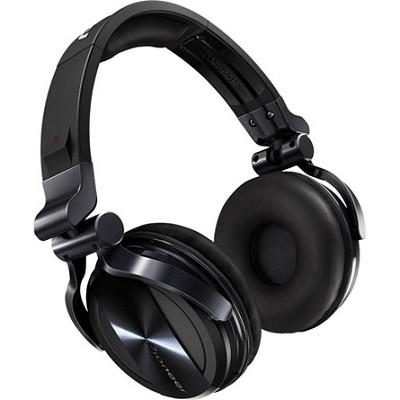 Professional DJ Headphones - Black Chrome - HDJ-1500-K - OPEN BOX