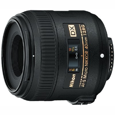 AF-S DX Micro-NIKKOR 40mm f/2.8G - OPEN BOX
